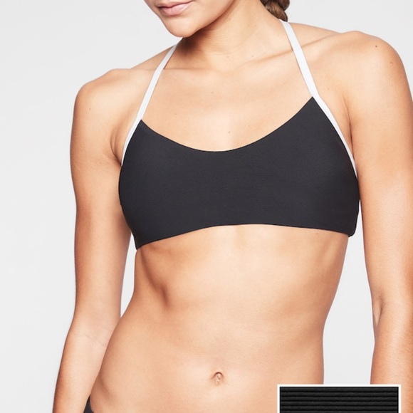 cae83a3d55 Athleta Swim | Cloudbreak Rib Strappy Bikini Top | Poshmark